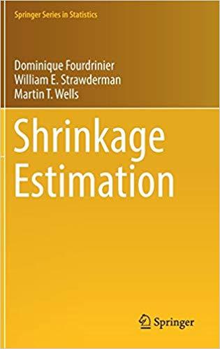 Statistics Trio Releases Textbook on Shrinkage Estimation