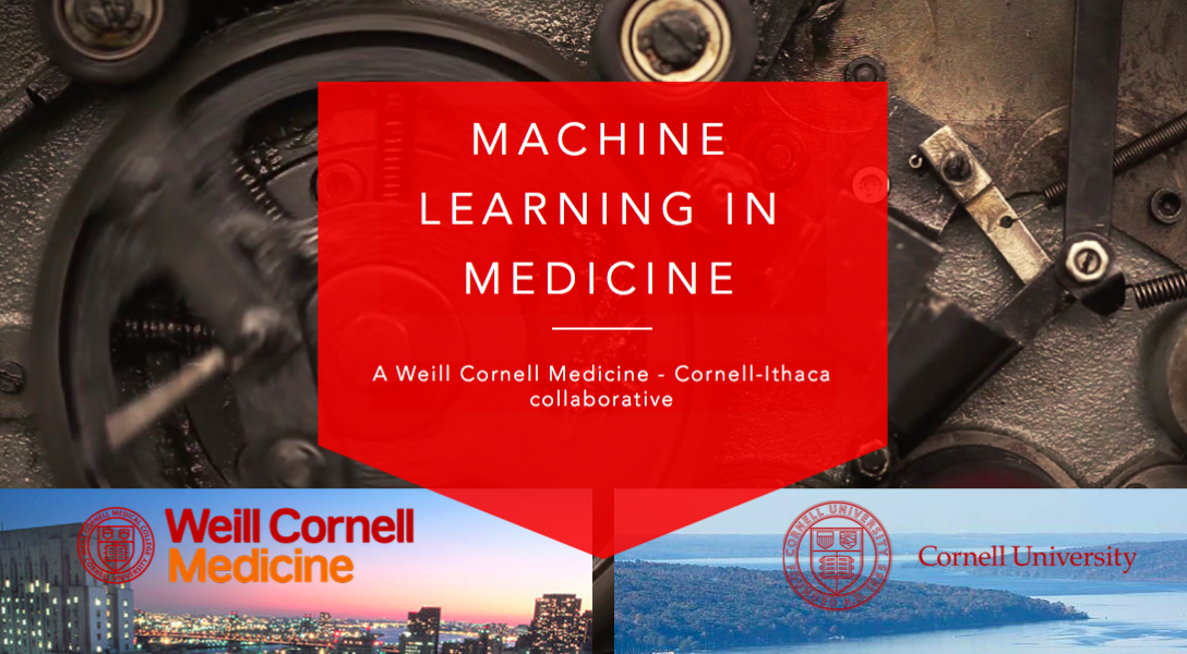 A screenshot from the Machine Learning in Medicine website