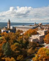 Cornell Campus bird's-eye view